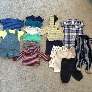 Bundle of 3 month boy clothes